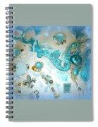 Seablue Spiral Notebook
