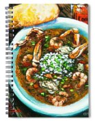 Seafood Gumbo Spiral Notebook