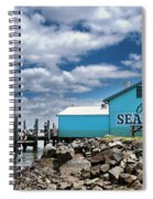 Seafood On The River  Spiral Notebook