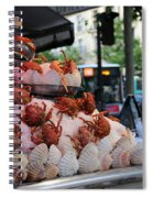 Seafood Restaurant 2 Spiral Notebook