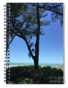 Seagrapes And Pines Spiral Notebook