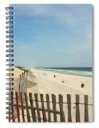 Seagulls Beach Spiral Notebook