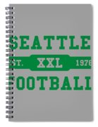 Seahawks Retro Shirt Spiral Notebook