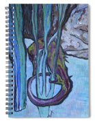 Seahorse Anchored Spiral Notebook