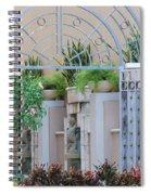 Seahorse Fountian Spiral Notebook