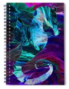 Seahorse In A Lightning Storm Spiral Notebook