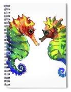 Seahorse Love Spiral Notebook