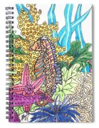 Seahorse Sanctuary  Spiral Notebook