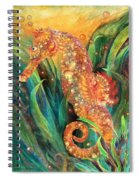 Seahorse - Spirit Of Contentment Spiral Notebook