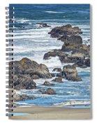 Seal Rock Seascape Spiral Notebook