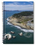 Seal Rocks At The Cliff House Spiral Notebook