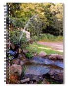 Seal Statue Fountain 1 Spiral Notebook