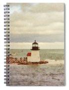 Seamans Light Spiral Notebook