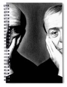 Sean Connery And Michael Caine Spiral Notebook