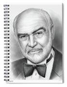 Sean Connery Spiral Notebook