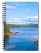 Seaplane On Talkeetna Lake, Alaska Spiral Notebook