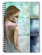 Searching For Inner Peace Spiral Notebook