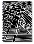 Searchlights Spiral Notebook