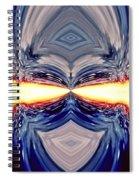 Searing Gaze Spiral Notebook