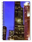 Sears Tower Chicago Spiral Notebook