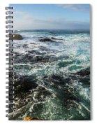 Seas Of The Wild West Coast Of Tasmania Spiral Notebook