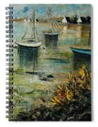 Seascape 78 Spiral Notebook