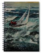 Seascape 97 Spiral Notebook