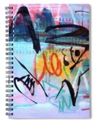 Seascape Abstract Spiral Notebook