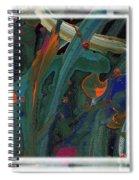 Seascape Enhanced Spiral Notebook
