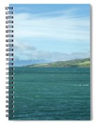 Seascape In Iceland On Summer  Spiral Notebook