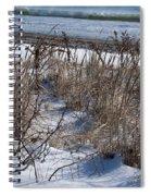 Seascape In Winter Spiral Notebook