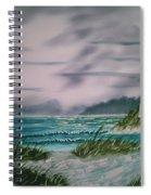Seascape Lighthouse Spiral Notebook