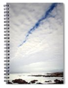 Seascape Skyscape Two Spiral Notebook