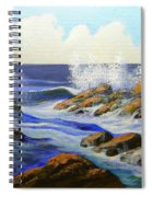 Seascape Study 2 Spiral Notebook