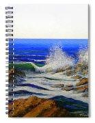 Seascape Study 4 Spiral Notebook