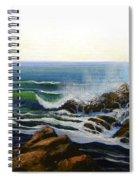 Seascape Study 5 Spiral Notebook