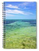 Seascape - The Colors Of Key West Spiral Notebook