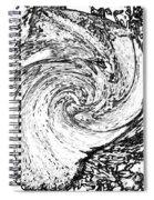 Seashell And Ocean Spiral Notebook