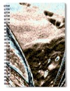 Seashell And Seaweed Spiral Notebook