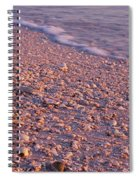 Seashell On The Beach, Lovers Key State Spiral Notebook