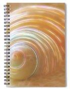 Seashell Sandy Fantasy Spiral Notebook