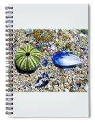 Seashore Colors Spiral Notebook