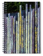 Seashore Fence Spiral Notebook