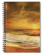 Seashore Sunset Spiral Notebook