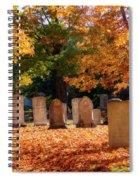 Seaside Cemetery Spiral Notebook