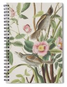 Seaside Finch Spiral Notebook