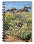 Seaside Flowers Spiral Notebook