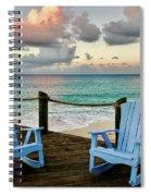 Seaside In Antigua Spiral Notebook