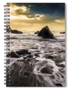 Seaside L/r Spiral Notebook