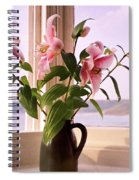 Seaside Lilies Spiral Notebook